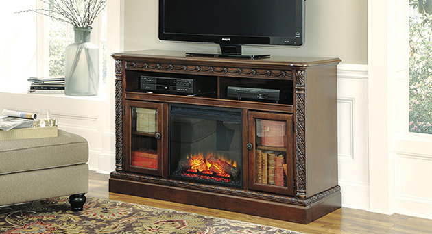 Entertainment Centers With LED Fireplaces In MA